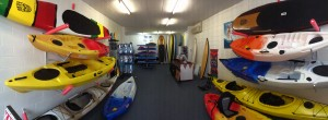 Easy Kayaks Sales Centre Interior