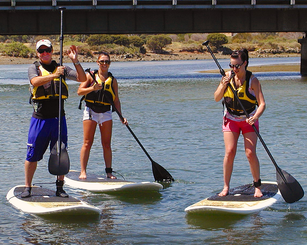 EasySUP stand up paddleboard instruction in Port Noarlunga